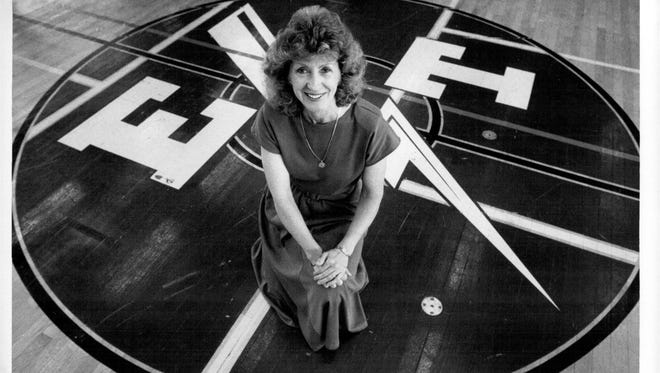 Former Edison Athletic Director Judith Knight was an advocate for girls sports.