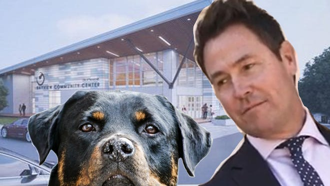 Dogs get left out of Bayview Park project budget. Woof!