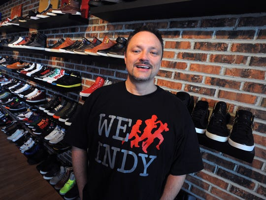 Mike Watson is co-owner of Got Sole? boutique in Broad
