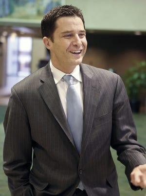 Former New Castle County Administrator David Grimaldi