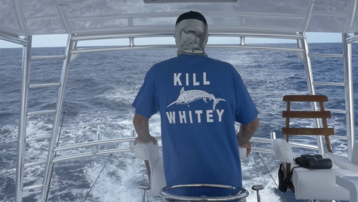 39 white lives matter 39 slammed by 39 whitey 39 shirt creator for Local t shirt printing companies