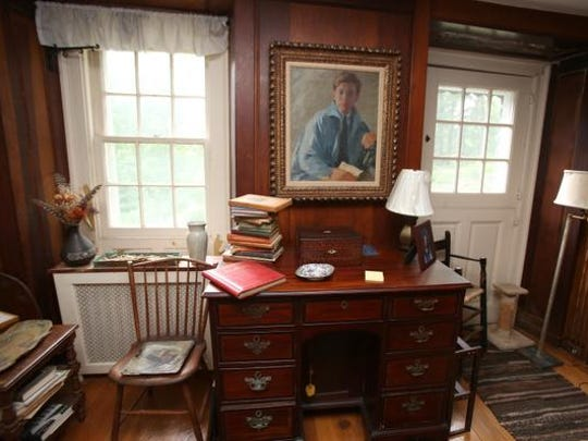 Mary and John Cheever's historic home in Ossining July 1, 2014. Mary recently died in the house at 95, and the family has put the home on the market.