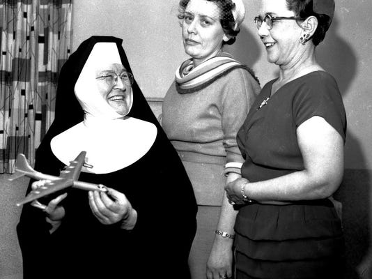#1 Sister at St Peter Claver Church 1-8-1960