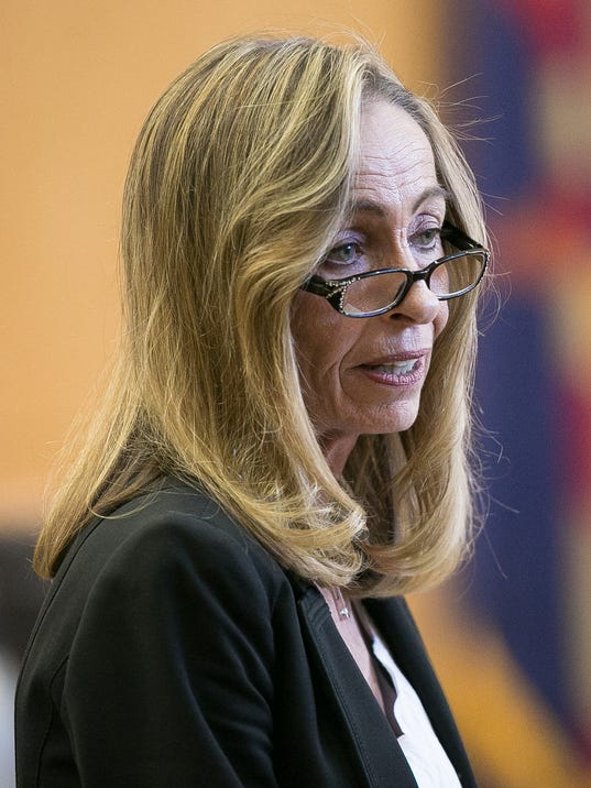 Prosecutor Jeannette Gallagher