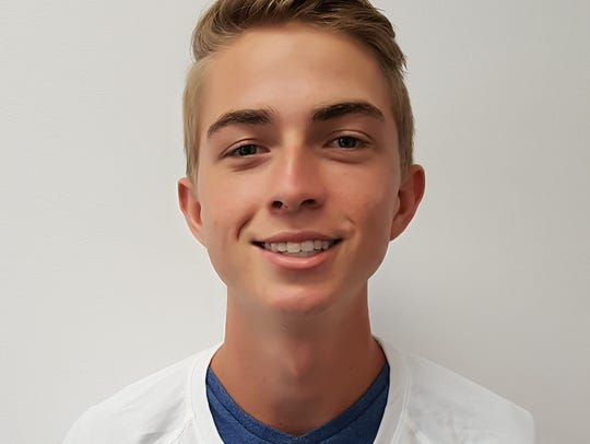 Seacrest runner Justin  Merrell won Athlete of the Week a week ago. Merrell leads a young but talented group of Stingray runners into the state meet Saturday.