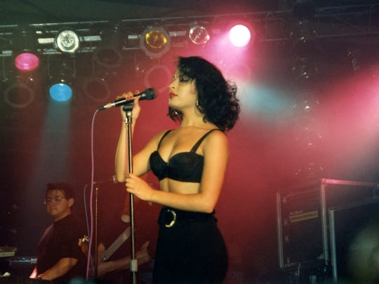 Selena Quintanilla-Perez, photo taken 9/25/1992