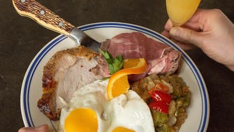 Before you shop the Asbury Park Bazaar, enjoy brunch at The Anchor's Bend at Convention Hall.