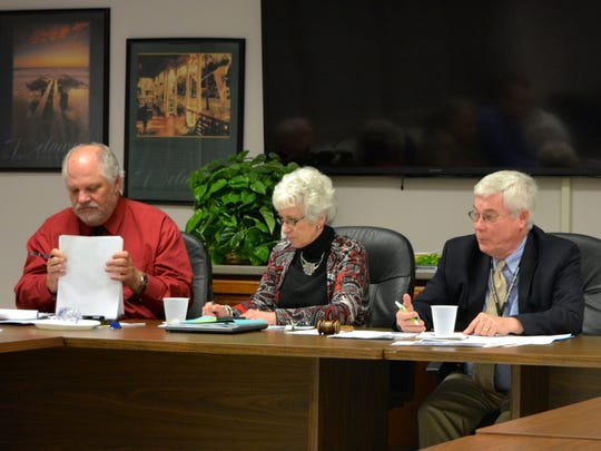 The Indian River school board met Monday, Feb. 29 to