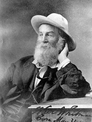 Walt Whitman is considered the godfather of American poetry. He did his most important work in Camden.