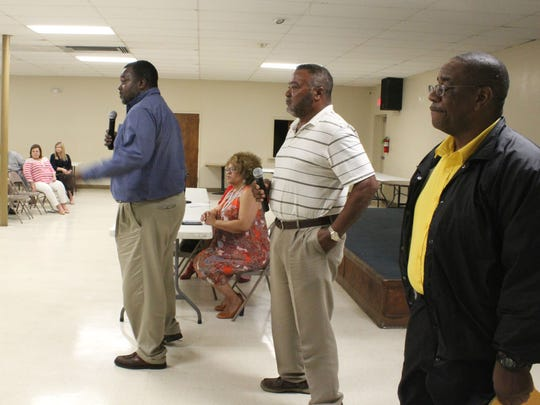 City officials addressed resident questions and concerns