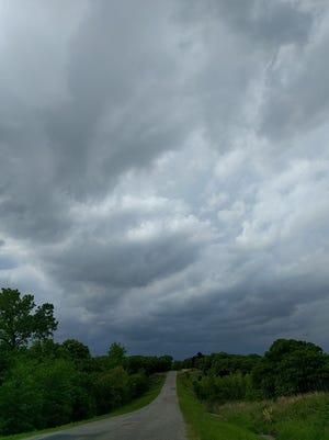 Storm clouds around Shawnee. FILE photo