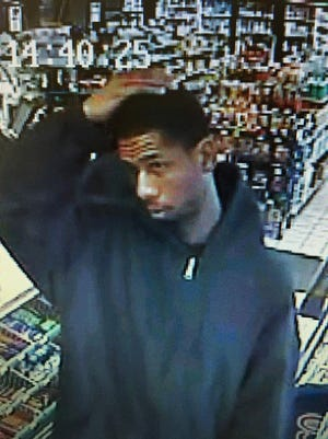 A security still from the Fort Wright BP gas station shows one of the suspects.