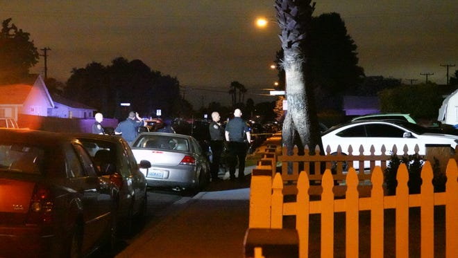 Authorities were investigating a shooting Monday night in Oxnard after a gunshot victim was taken to a local hospital.