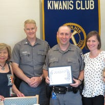 Trooper recognized for 2017 accomplishments, including commercial armed burglary arrest