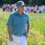 Jordan Spieth is two shots off the lead heading into the final round.