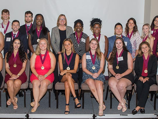 Florida State University welcomed 28 new inductees into its prestigious Garnet & Gold Scholar Society this summer.