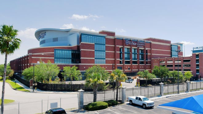 Jacksonville's VyStar Veterans Memorial Arena is the scheduled site for next month's Republican National Convention.