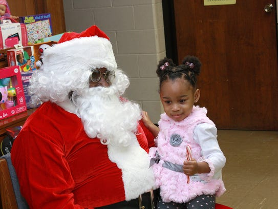 Lunch with Santa returns to Second Missionary Baptist Church on Dec. 2.
