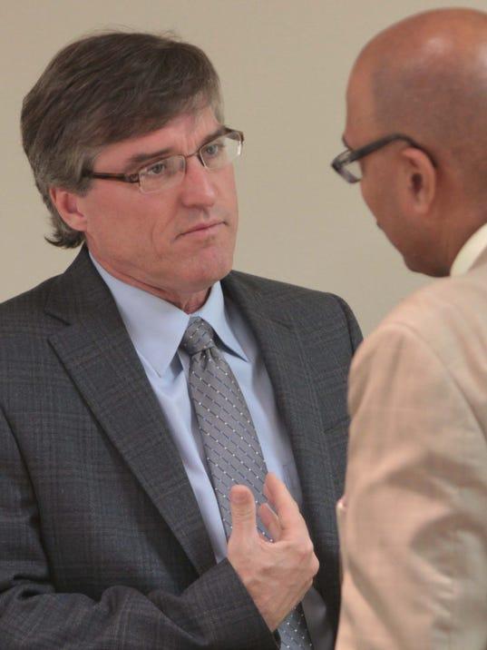 Superintendent Brent Vidrine