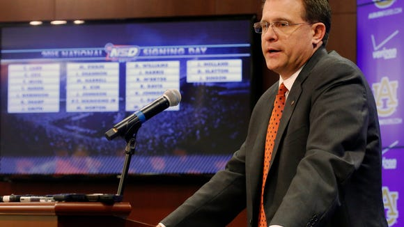 Auburn's Gus Malzahn and his coaching staff finished strong on National Signing Day.