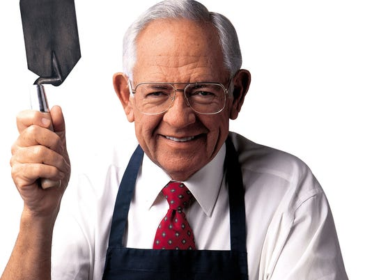 DAVE THOMAS FOUNDER OF WENDY'S OLD FASHIONED HAMBURGERS