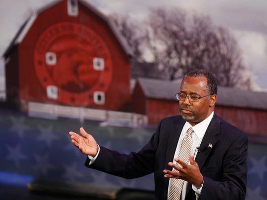 Dr. Ben Carson touched on a multitude of topics while