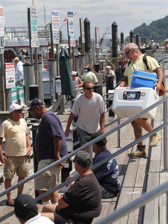 Back afloat in atlantic highlands for Atlantic highlands fishing party boats