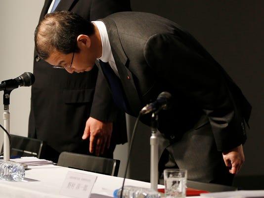 AP APTOPIX JAPAN TAKATA F I JPN