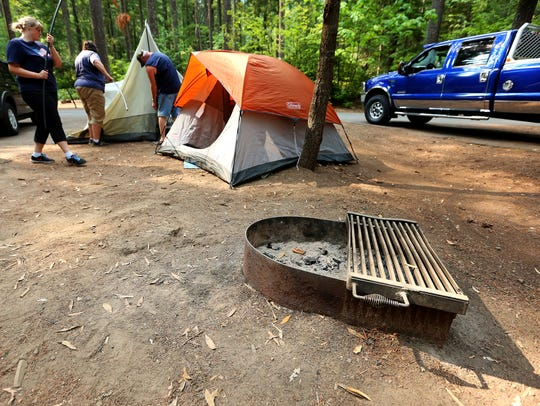 Camping rates could increase slightly at Oregon's most