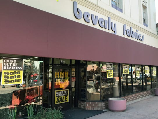 Beverly's going out of business, Oct.3, 2017