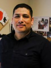 Levi Herrera-López, executive director of Mano a Mano