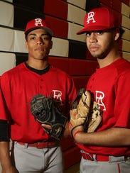 Darius Diaz (left) and Chris Brito are the cornerstones of the Perth Amboy baseball team