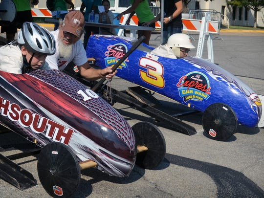 Soap Box Derby participates in 2012.