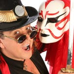 """The Weekend of Wonder show is in town. The event includes performances by magicians including """"headliner"""" Jeff McBride, who combines martial arts, illusions, and kabuki theatre with stories from around the world."""