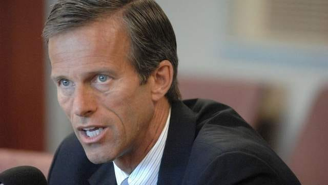Sen. John Thune has taken the NFL to task over its domestic abuse policies.