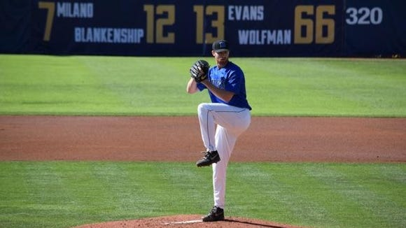 Asheville Christian Academy alum Bailey Clark now pitches in college for Duke.
