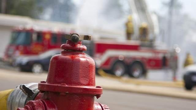 Fire crews responded to a Fredonia fire Tuesday.