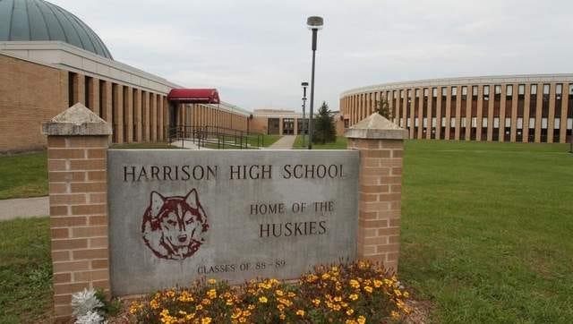 Harrison High School in Oct. 12, 2011