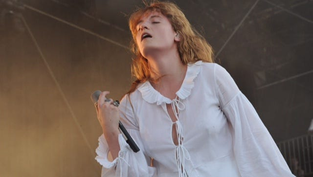 Florence and the Machine's Florence Welch performed at Bonnaroo in June in Manchester, Tenn.