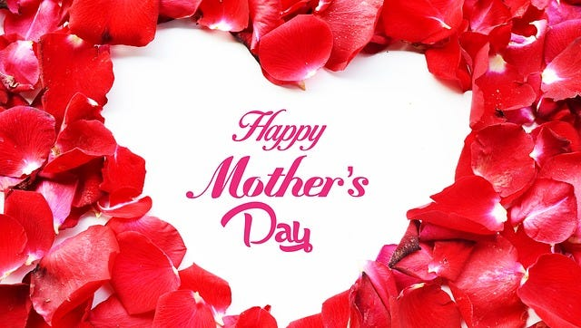 Happy Mother's Day, from all of us to you.