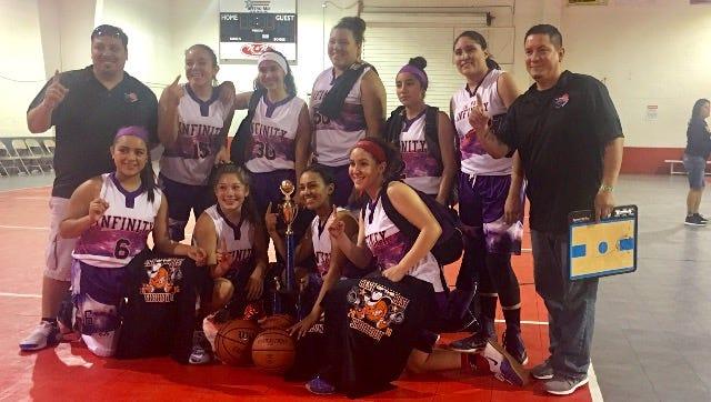 Infinity girls basketball team