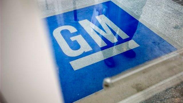 FILE - GM logo.