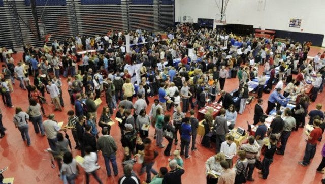 The 2011 Greater Evansville College Fair.