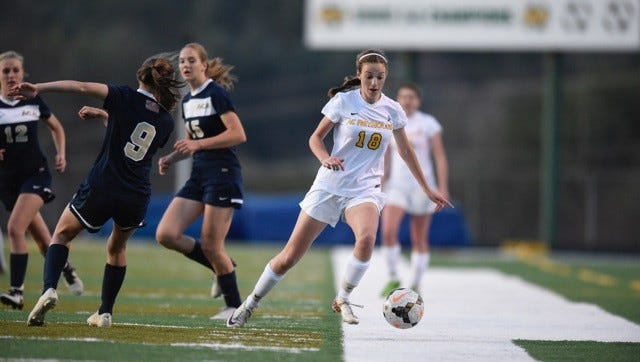 Reynolds junior Grace Sloan has committed to play college soccer for UNC Asheville.