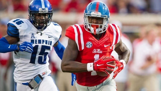 Ole Miss wide receiver Laquon Treadwell