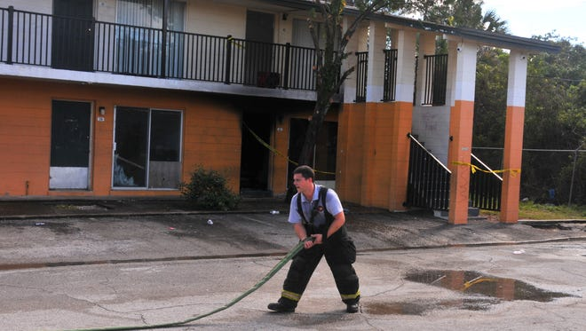 A cause of a suspicious early morning fire at the Village Green Apartments in Cocoa is under investigation. The police were called to the apartment before the fire for a suspected burglary call.