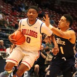 Rising senior guard Alex Hamilton (0) will have the spotlight on himself at Louisiana Tech in 2016.