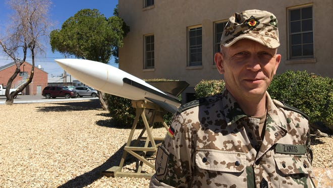 Command Sgt. Maj. Michael Zantis will take over as the senior enlisted leader with the German air force at Fort Bliss on Sunday.