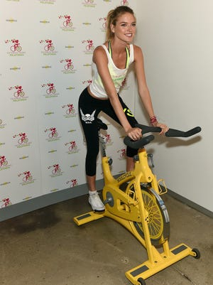 Victoria's Secret Angel Martha Hunt is among the many celebs that have tried fitness trend SoulCycle. SoulCycle filed for IPO on Thursday.