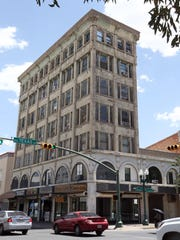 The historic Abdou building at Mesa and Texas in Downtown